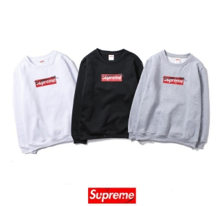 supreme 3 colors white black grey long sleeve sign box logo