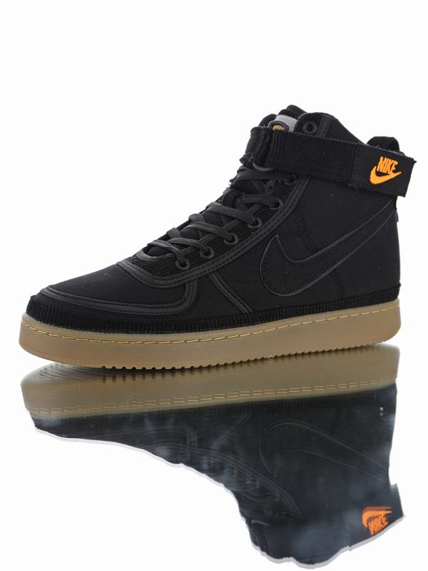 Carhartt WIP x Nike Vandal High Supreme Black Brown AV4115-001
