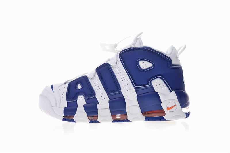 "Nike Air More Uptempo ' 96 ""Knicks"" White blue 921948-101"