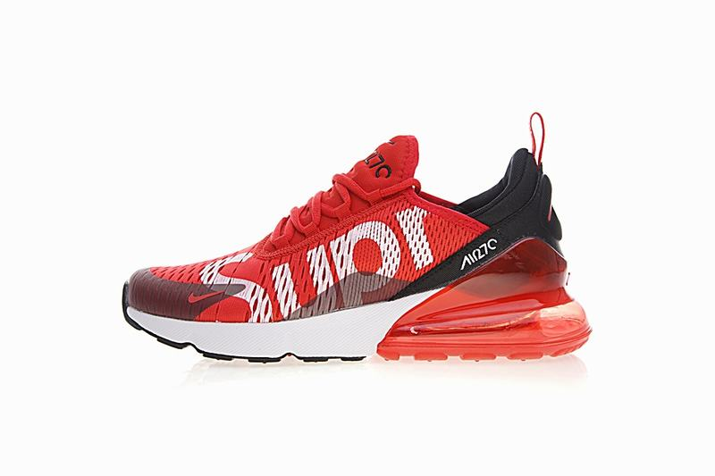 Supreme x Nike Air Max 270 red white AH8050-0017