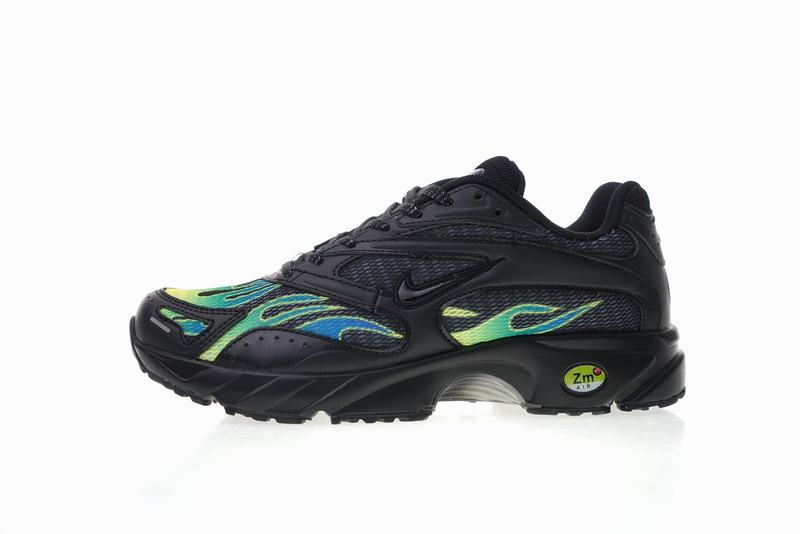 Supreme x Nike Zoom Streak Spectrum Plus black green AQ1279-001